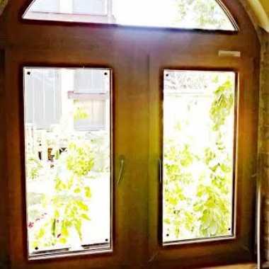Lamiran pvc prozor sa fiksnim lukom