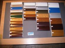 uzorci boja za roletne i garažna vrata